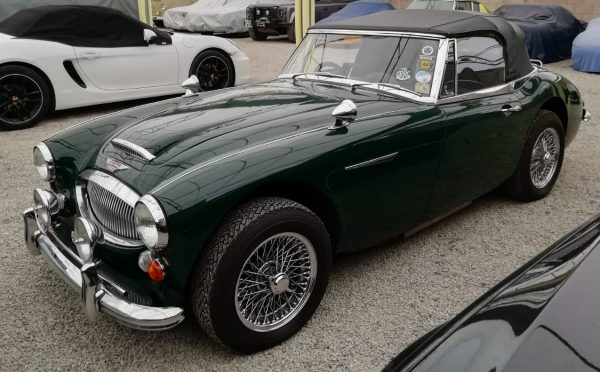Austin Healey 3000 MkIII Front 3qtr