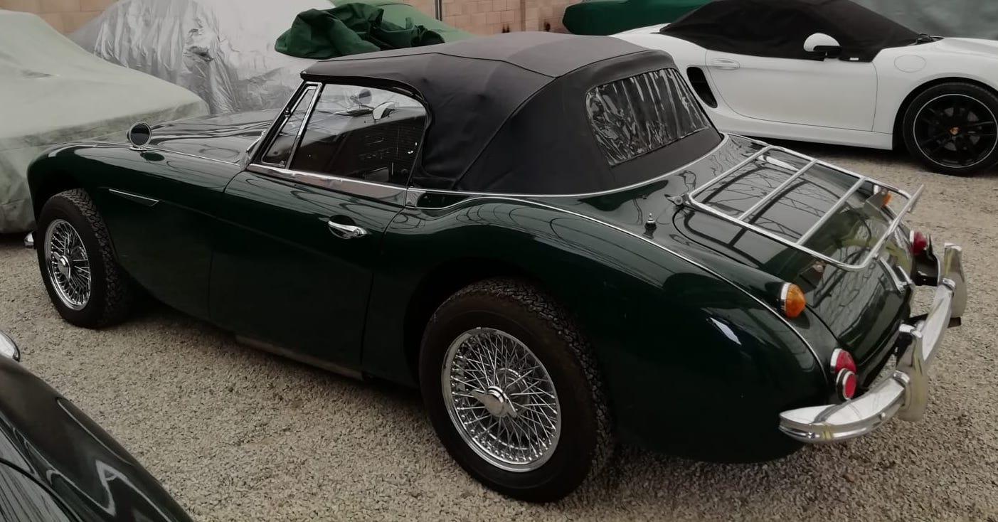 Austin Healey 3000 MkIII Rear 3qtr