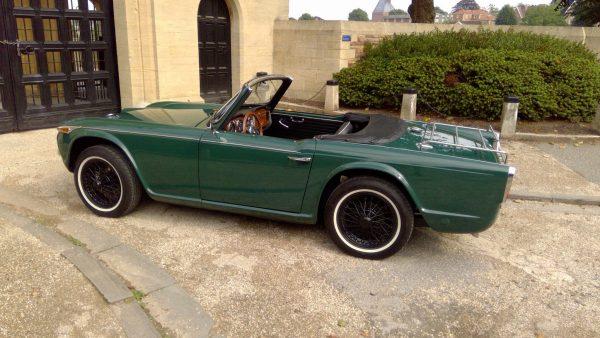 Triumph TR4a side