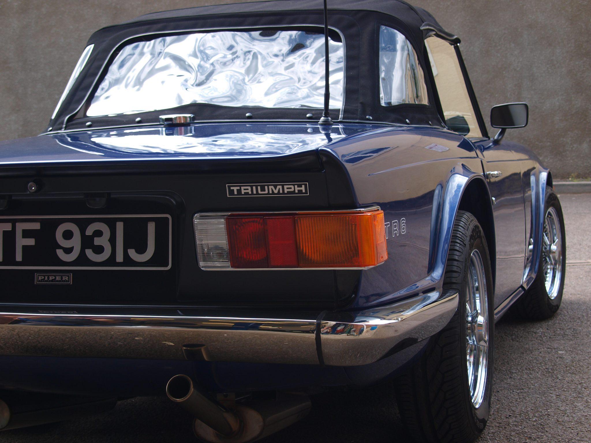 Triumph TR6 rear