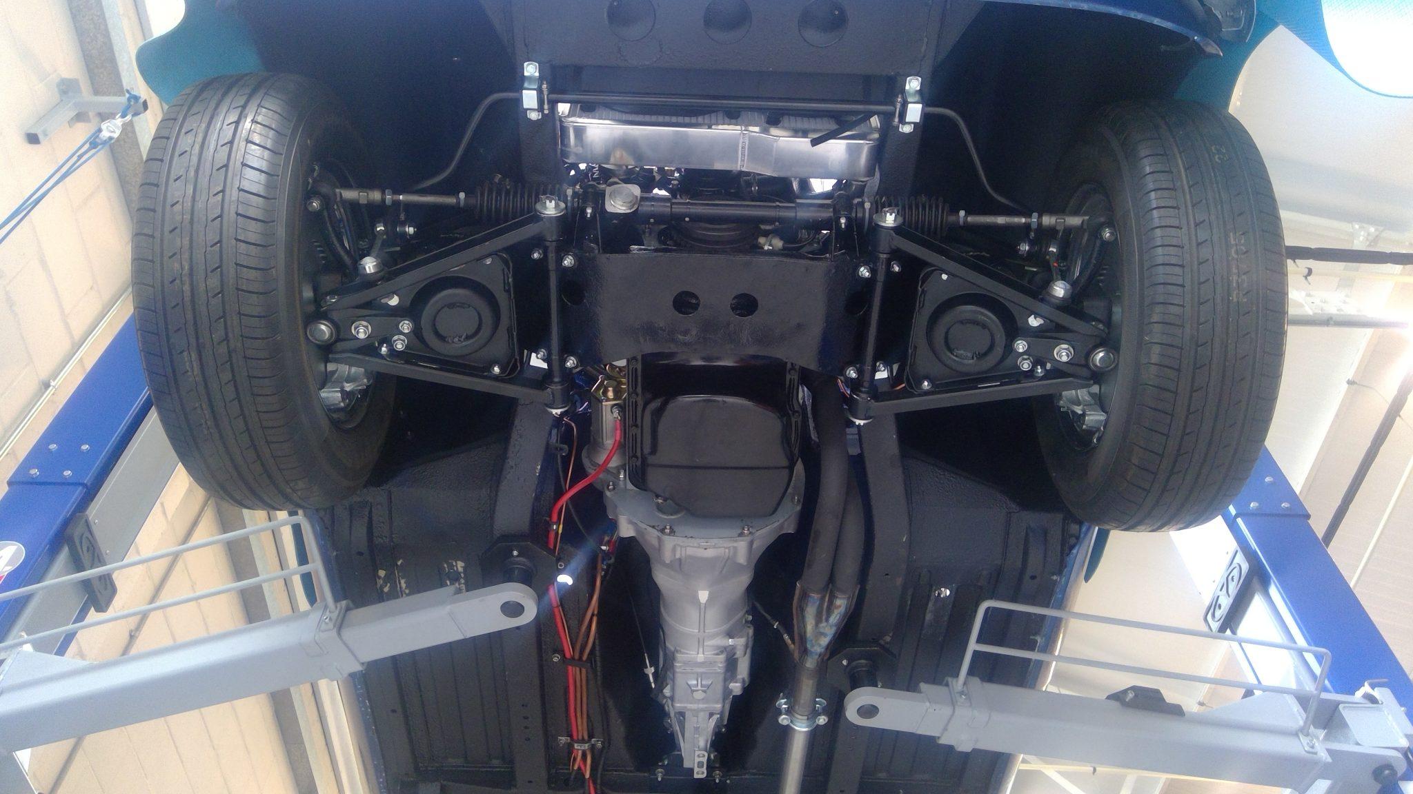 MGB Roadster EFI