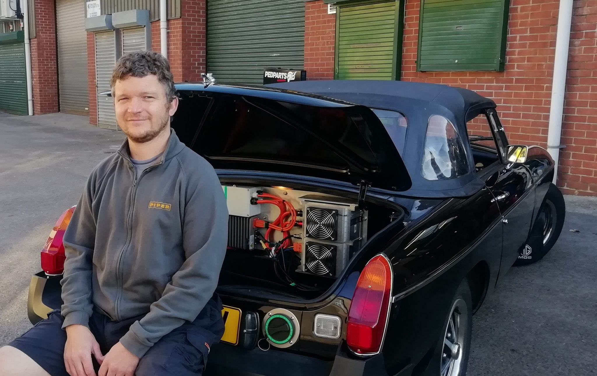 Alex Piper at Piper Special Vehicles